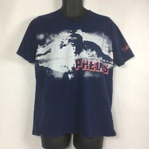 Other - Speedo Michael Phelps graphic tee size Large navy